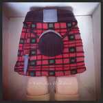 Scottish Kilt Cake